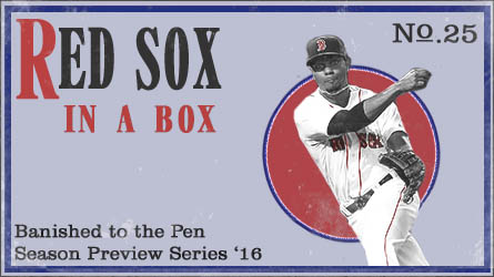 the 2016 boston red sox in a box banished to the pen