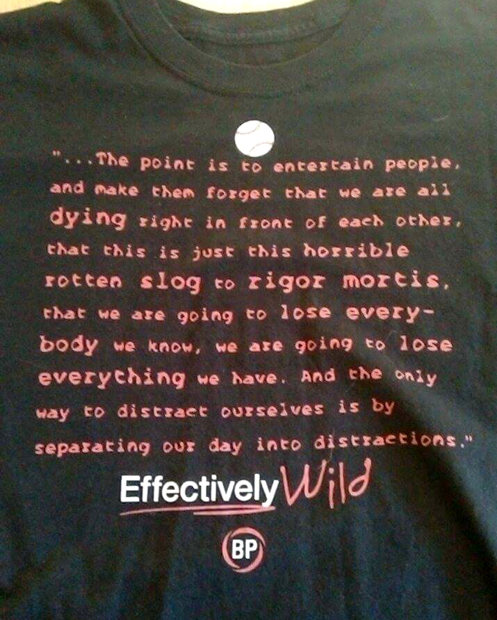 Effectively Wild Distractions Shirt