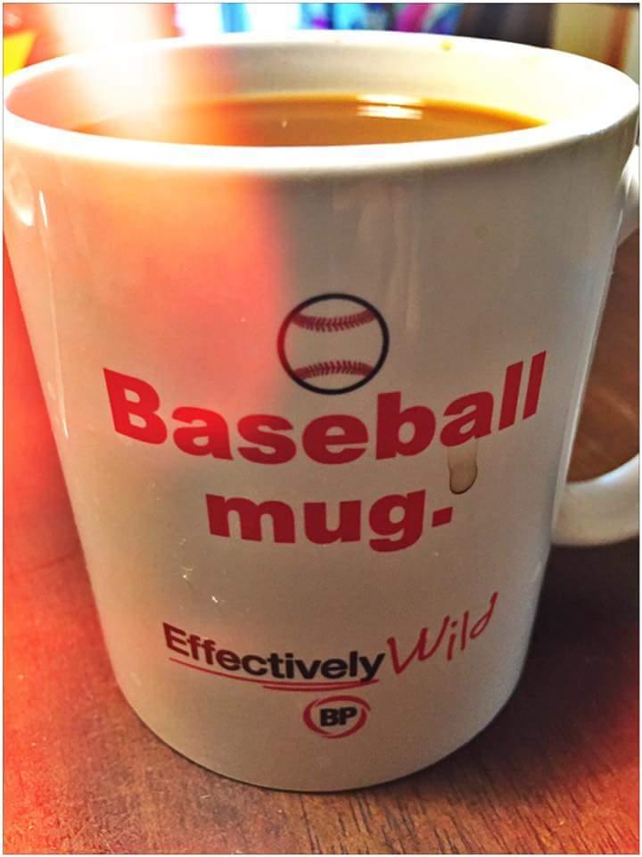 Effectively Wild Baseball Mug