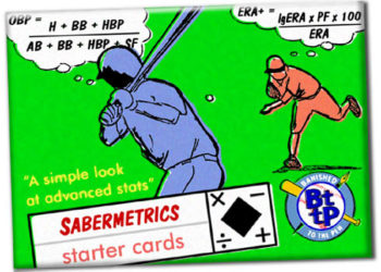 Sabermetrics Starter Cards 0A - wrapper
