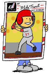 baseball halloween costume - logoless Donruss card