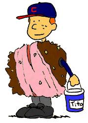 baseball halloween costume - Terry Francona tobacco gum seeds