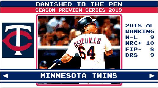 b8ed6979 Season Preview Series 2019: Minnesota Twins | Banished to the Pen