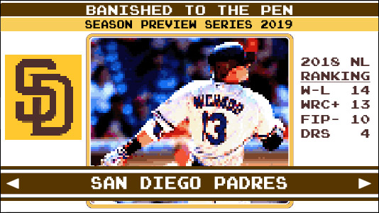 a2d63f07c1d Season Preview Series 2019: San Diego Padres | Banished to the Pen
